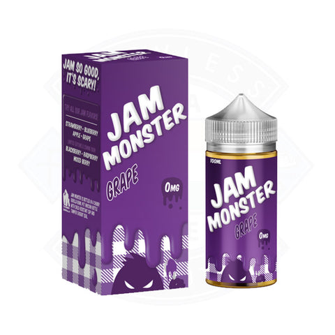 Vape E liquid Jam Monster Grape