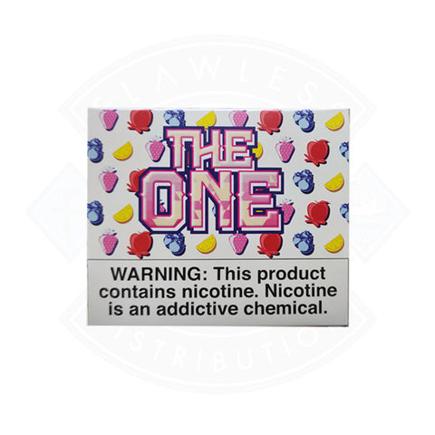 Vape E liquid The One Multi Flavour