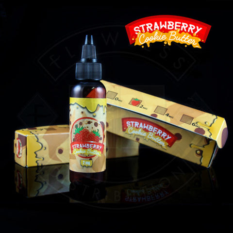 Vape E liquid Vaper Treats Strawberry Cookie Butter