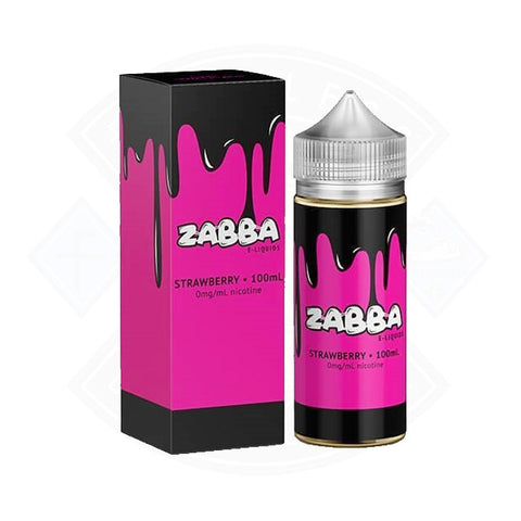 Vape E liquid Zabba Strawberry