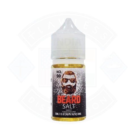 Vape Nic Salt E liquid Beard Vape Co No 00