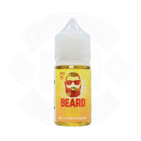 Vape Nic Salt E liquid Beard Vape Co No 71