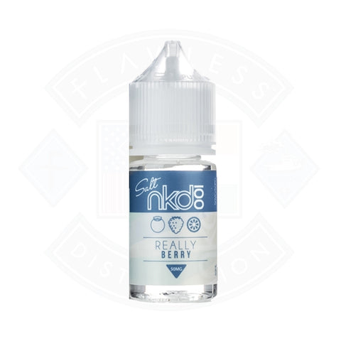 Vape Nic Salt E liquid Naked 100 Really Berry
