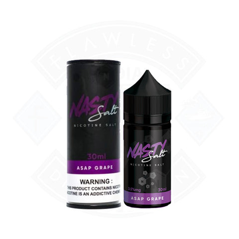Vape Nic Salt E liquid Nasty Juice Asap Grape