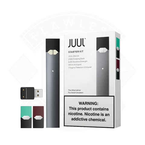 Vape Pod Juul Starter With 2 Pods Components