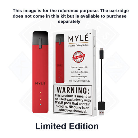 Vape Pod Myle Hot Red Device Components
