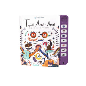 Tepuk Amai-Amai Sing-and Record Fun Book