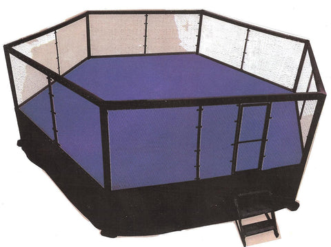 Title MMA Combat Cage 6m without Catwalk