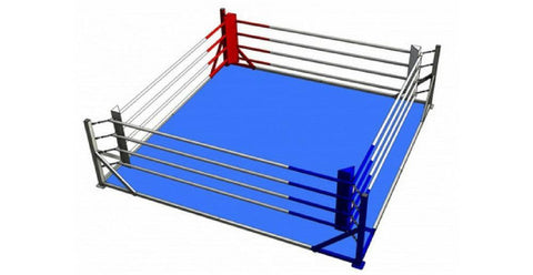 TITLE FLOOR LEVEL TRAINING BOXING RING: 5m