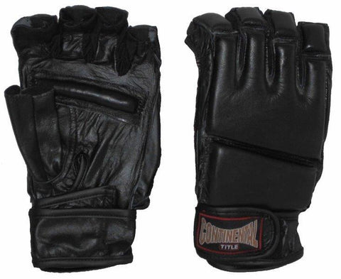 EXERCISE AND GRAPPLING GLOVES: MEDIUM