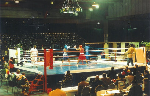 TITLE TOURNAMENT BOXING RING: 7m