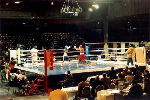 Title Tournament Boxing Ring: 8m
