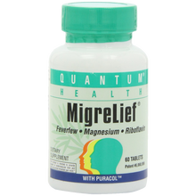 Quantum Migrelief 60 Tabs 1 Bottle