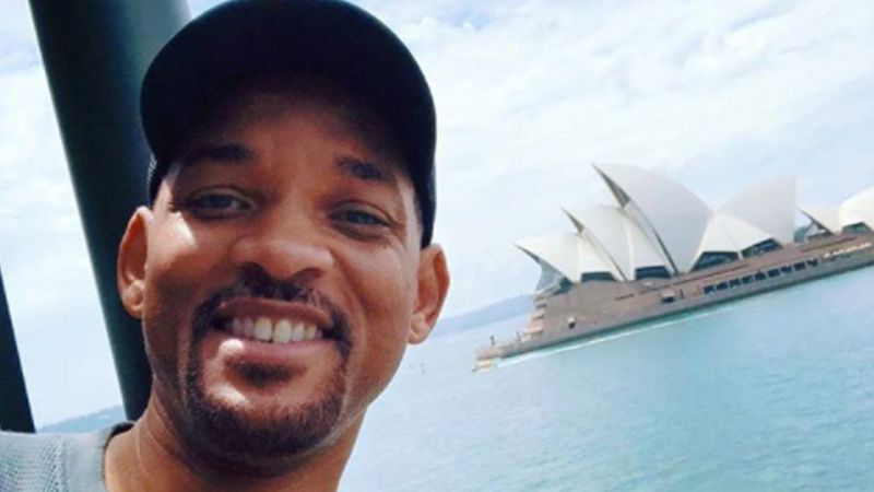 'It broke me, y'all': Will Smith embraces Australian 'brunch culture'