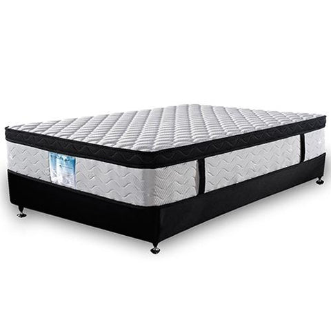 Hypo Allergenic Anti Fungal Dust Mite Resistant Eurotop Roll Mattress Queen