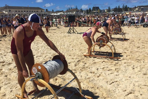 Bondi Beach lifesavers commemorate 80th anniversary of Black Sunday drownings with re-enactment