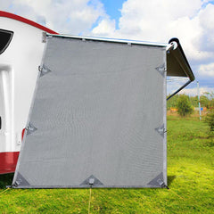 grey-caravan-privacy-screen-1-95-x-2-2m-end-wall-side-sun-shade-roll-out-awning
