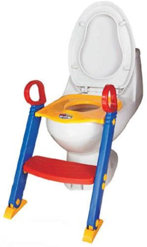 Kids Toilet Ladder Toddler Potty Training Seat Polypropylene