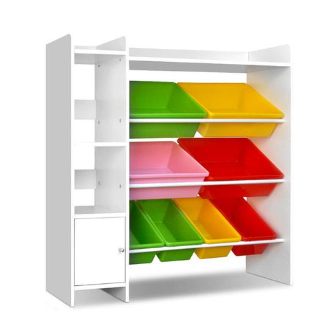 artiss-8-bin-toy-storage-shelf