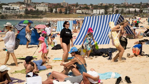 You thought Sydney real estate was vicious? Let's talk beach etiquette Janie Barrett