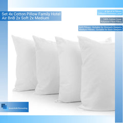 set-4x-cotton-pillow-family-hotel-air-bnb-2x-soft-2x-medium-aussie-bulk-discounting