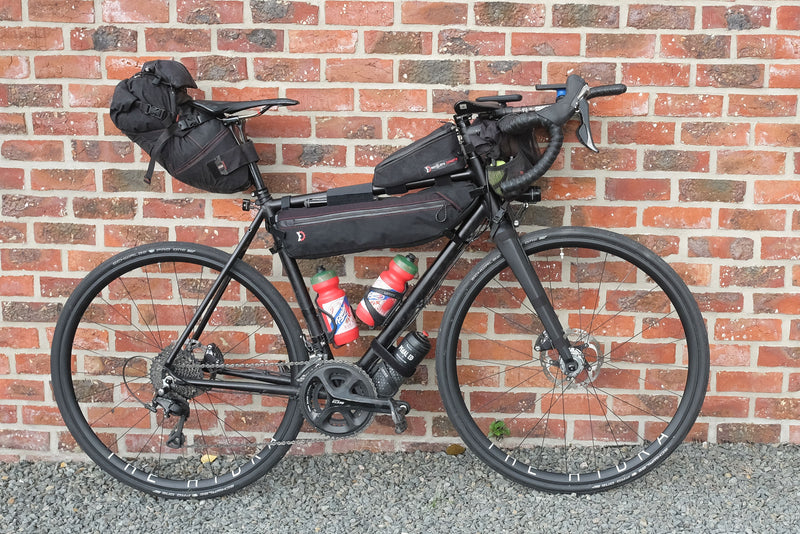 3 Years of The Transcontinental Race by bike setup