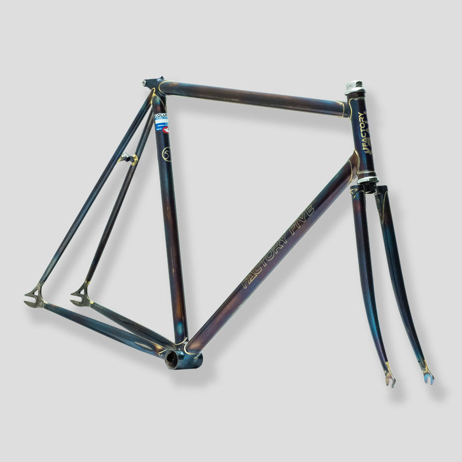 Pista Fully Flamed Frameset