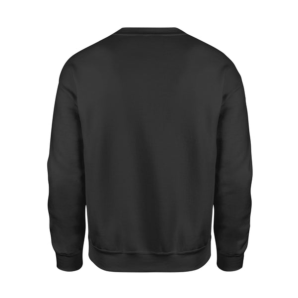Teesgl-Store, Sorry, I'm late I didn't want to come, I hate people, Standard Fleece Sweatshirt
