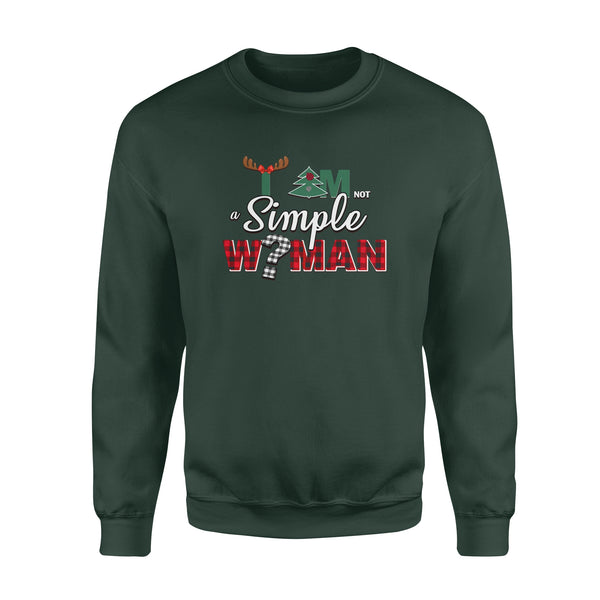 Teesgl-Store, I Am Simple Woman, Standard Fleece Sweatshirt
