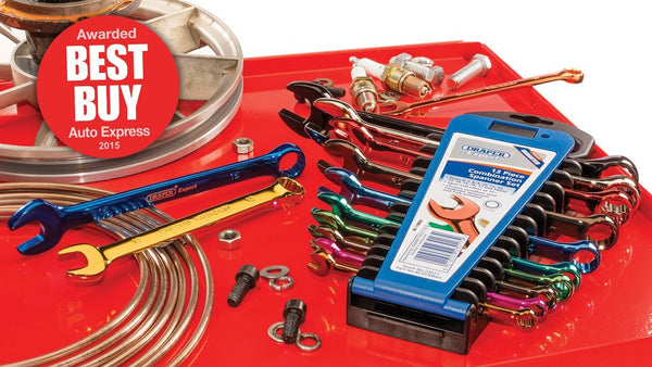 NEW Coloured Combination Spanner and Ratchet Sets at Almec Products - ALMEC PRODUCTS