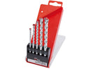 5 Piece Metric Masonry Drill Set 4, 5, 6, 8 and 10mm Draper (81005)-Almec Products