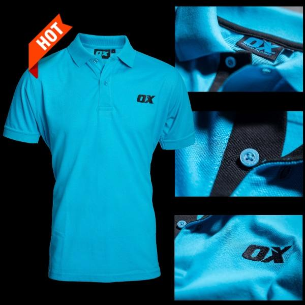 OX Tools Polo Shirt Workwear Size X Large OX-W550605-Almec Products