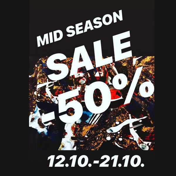 MID SEASON SALE -50% !!!!