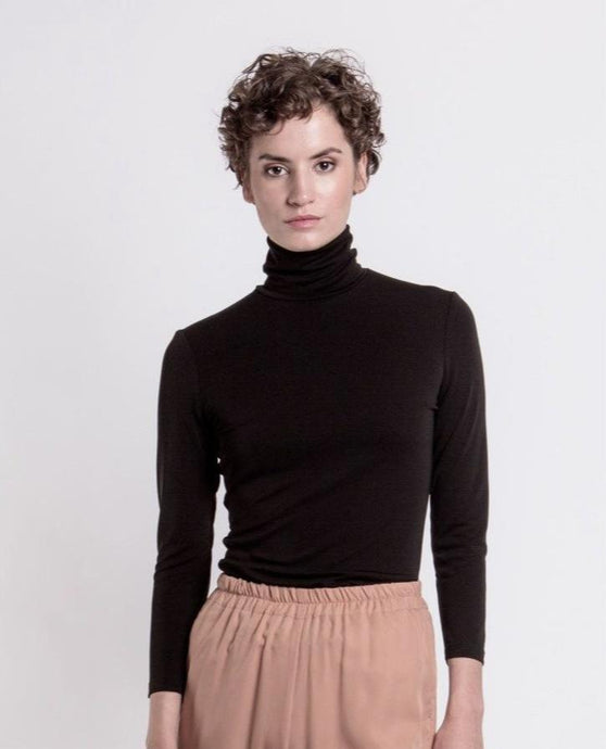 Alissa Turtleneck, black