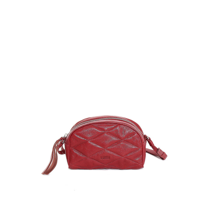 Ebba Quilted Crossbody Red Pear