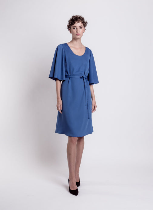 Estelle dress, blue