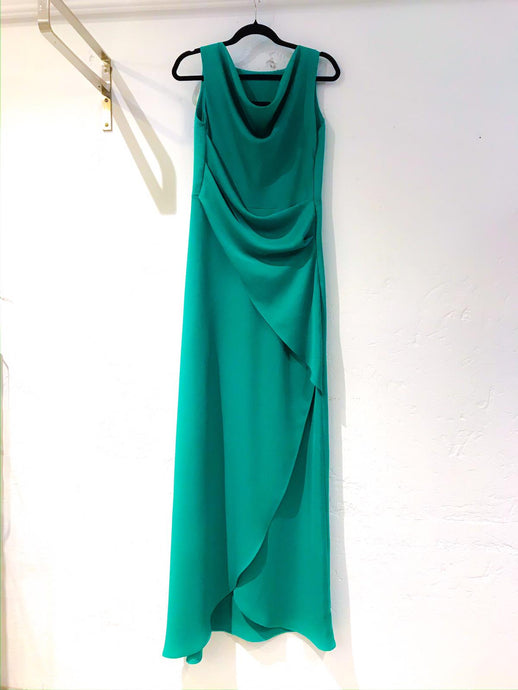 Eden evening dress, green