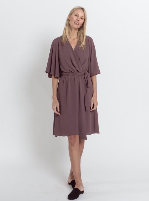 Inga Dress, Heather