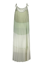 Kajo pleated maxi dress