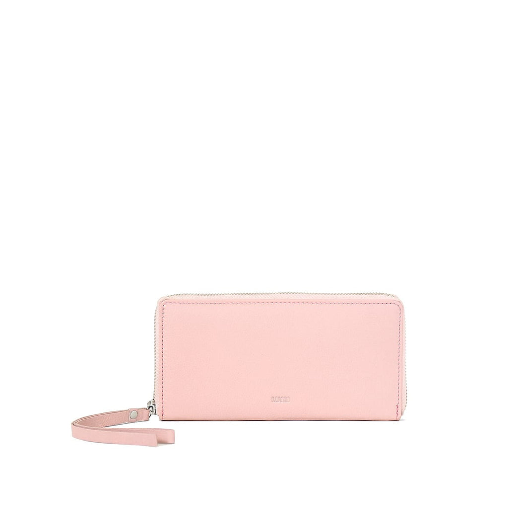 Large Ziparound Wallet Light Pink