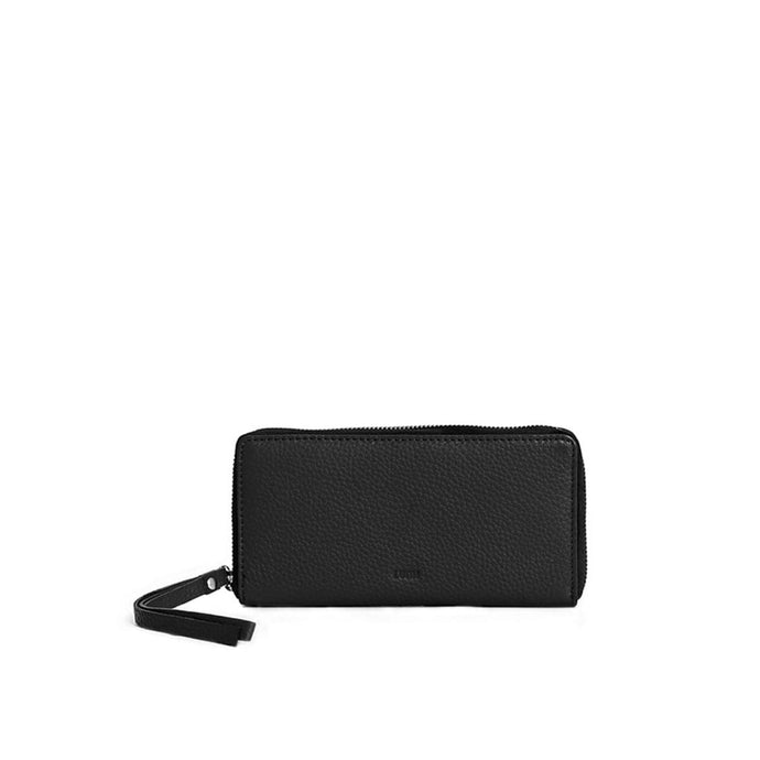 Large Ziparound Wallet Black