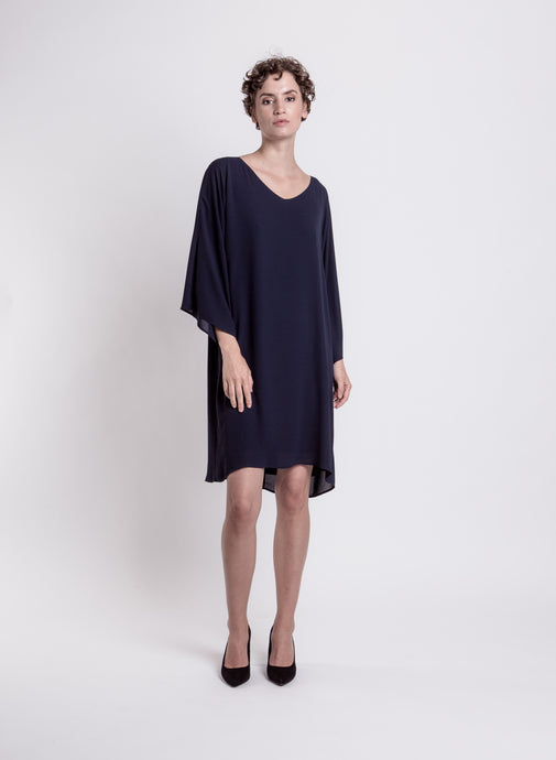 Malou dress, dark blue