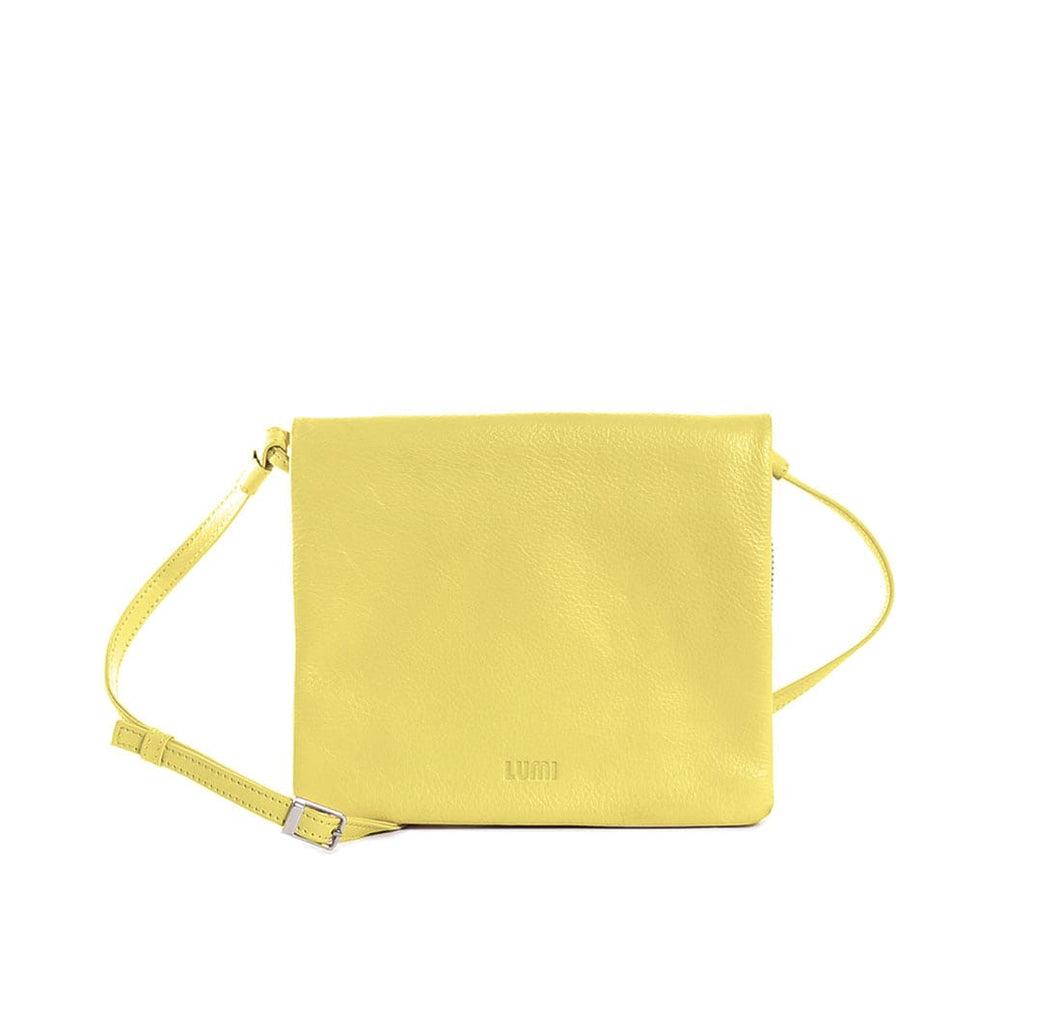 Mette Pocket Bag Light Yellow