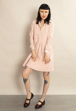 Ragna Hoodie Dress, Light Pink
