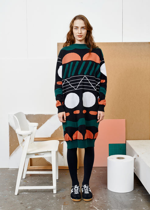 POLO KNIT -mekko