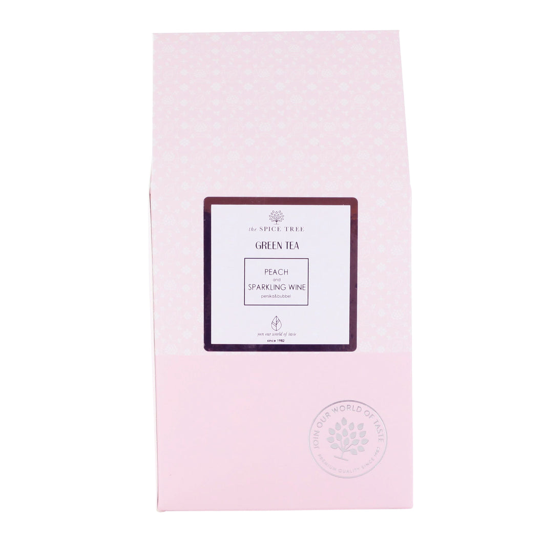 Green Tea Peaches & Sparkling Wine 100g