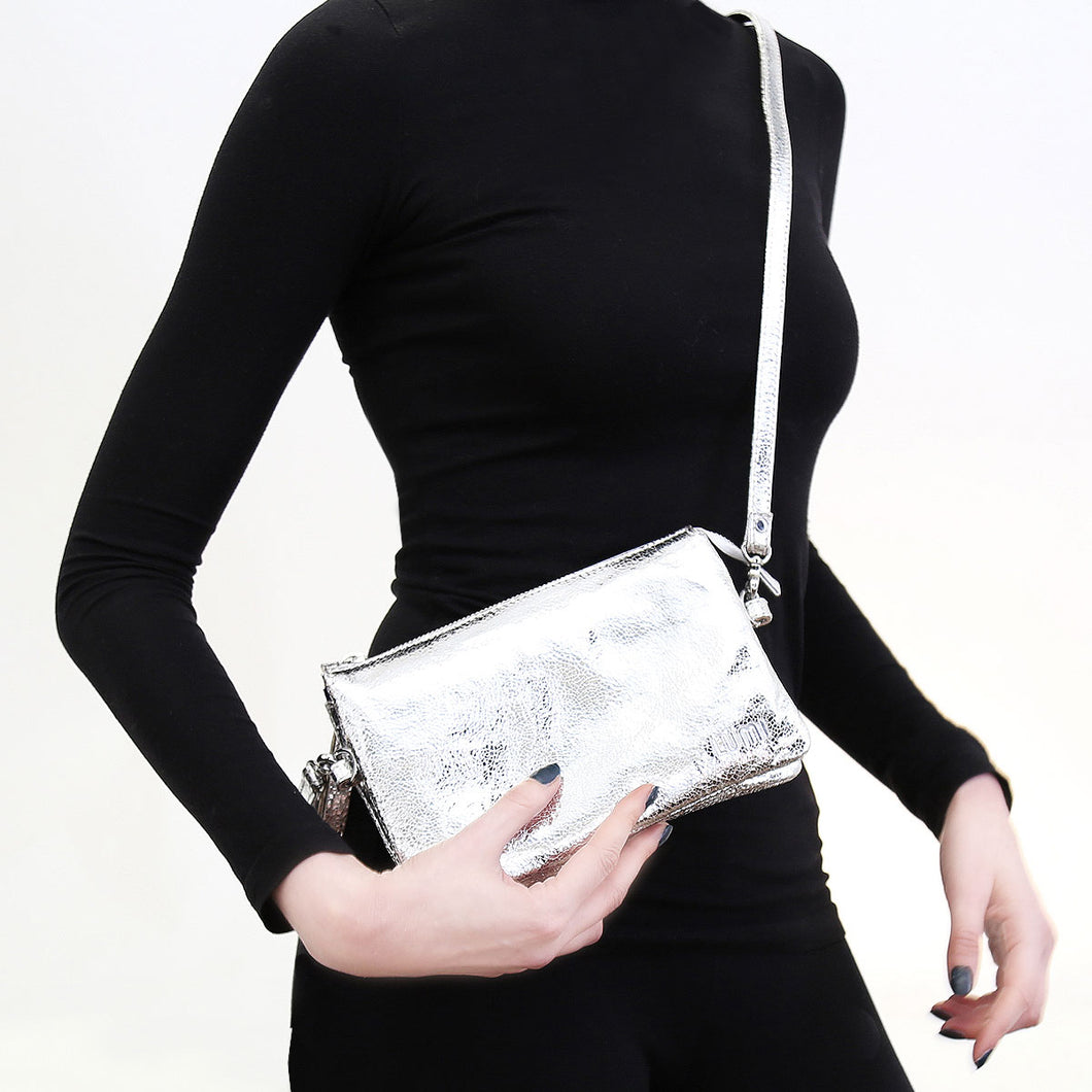 Venla all-in-one pouch silver