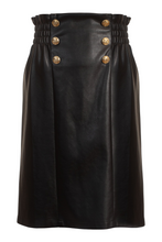 Keeley skirt, vegan leather