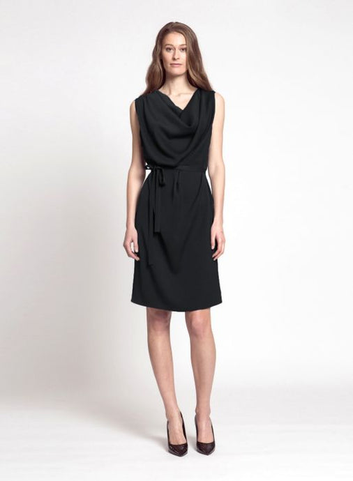 Thelma dress, BLACK
