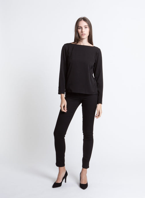 Beggy Blouse, Black